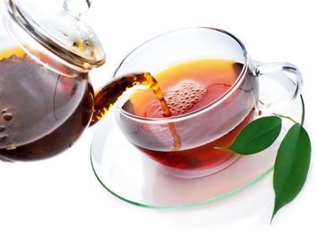 ดื่มชา